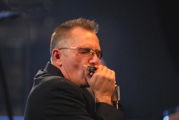 Echo Blues Alive láká na britského harmonikáře, Janet Robin a Vladimíra Mišíka