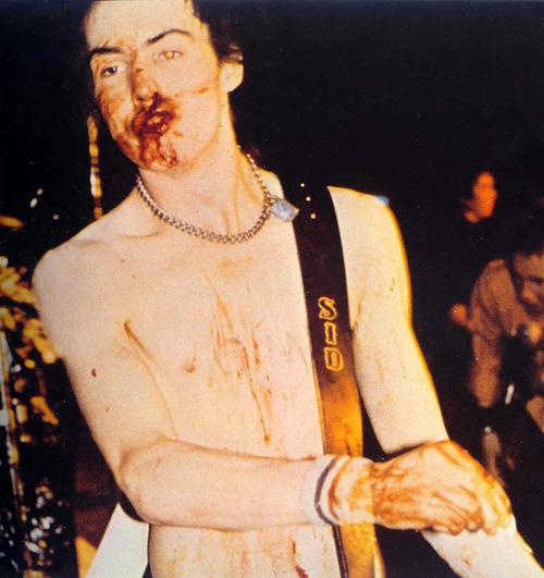 Sid Vicious ze Sex Pistols aneb ikona punku