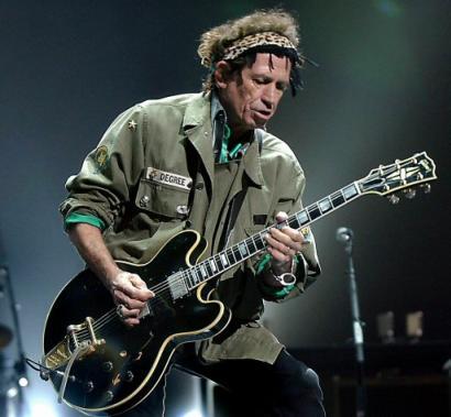 Keith Richards z Rolling Stones: Nesmrtelný šváb