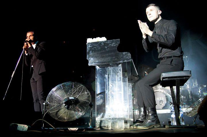 LIVE: Na Grape festivalu zazářili v pátek Hurts, Interpol podali slabý výkon