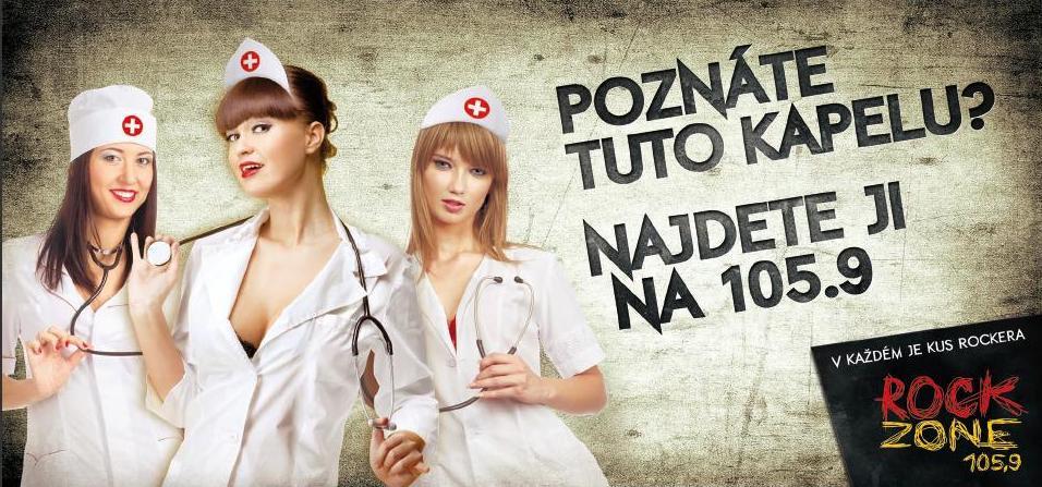 Rádio RockZone 105,9 má novou kreativní kampaň