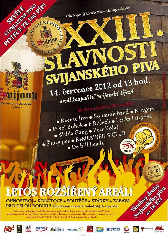 Žlutý pes, Petr Kolář nebo Pavel Bobek zahrají na Slavnostech svijanského piva