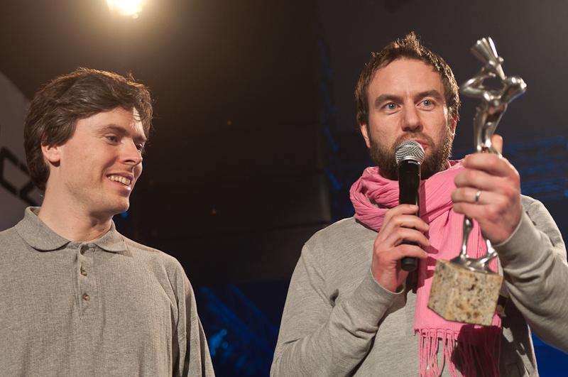 Žebřík 2011: Vítězil Tomáš Klus, speciální ocenění patří Tata Bojs