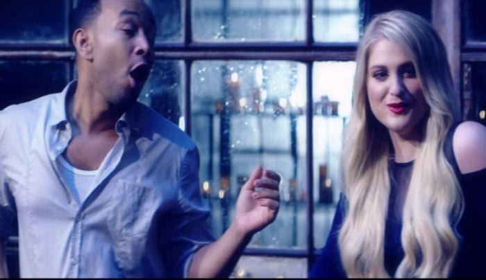VIDEO: Meghan Trainor a John Legend zpívají o lásce v dešti