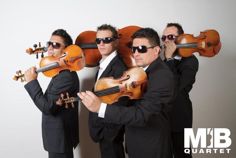 Smyčcový MIB Quartet zahraje hity Metalliky, Queen i Depeche Mode