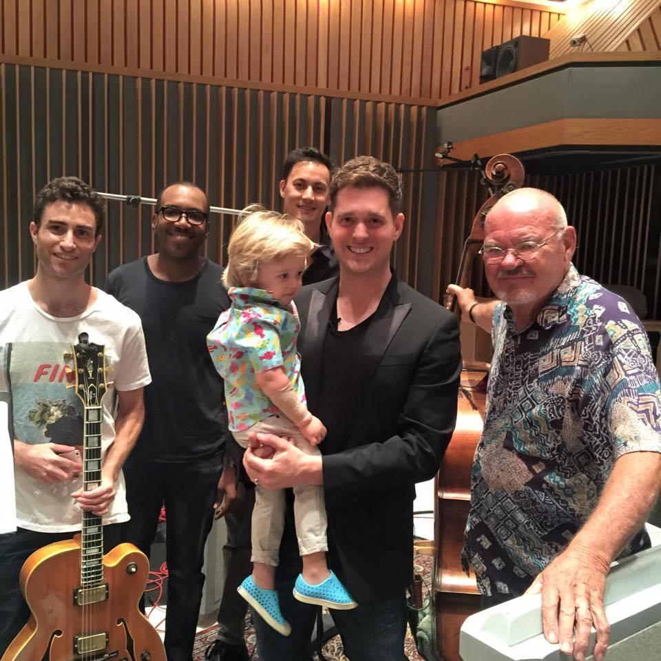 Michael Bublé slaví čtyřicetiny ve velkém: Nahrává novou desku