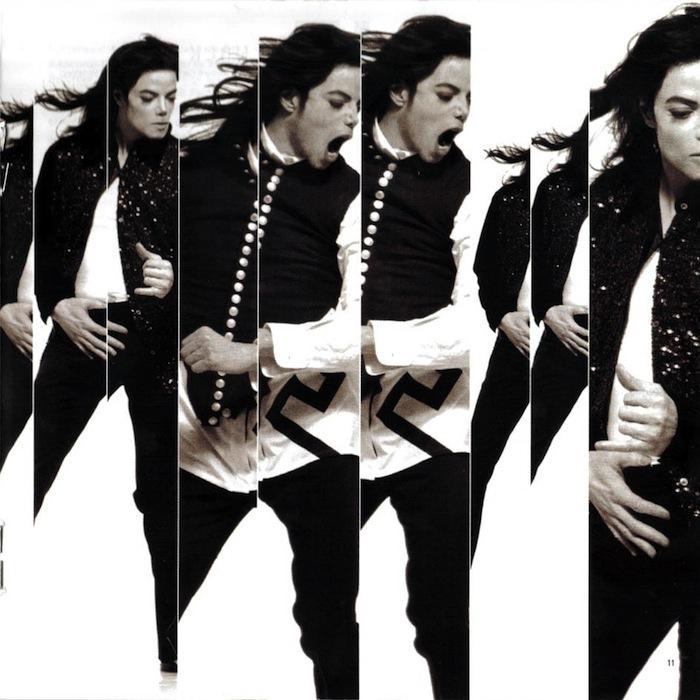 Michael Jackson: Behind The Mask je třetím singlem z desky Michael