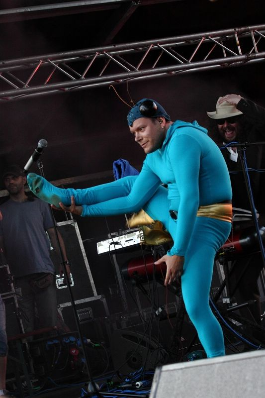 LIVE: Monkey Business  představili ve Žlutých lázních nové songy