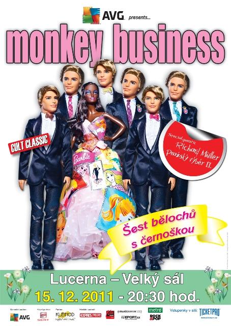Vánoční koncert Monkey Business obohatí Richard Müller