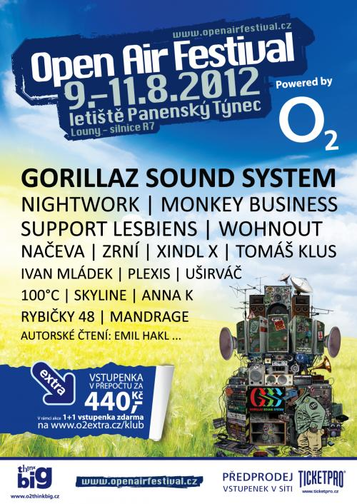 Open Air Festival zavzpomíná na Summer Of Love  na Night DJ Stage