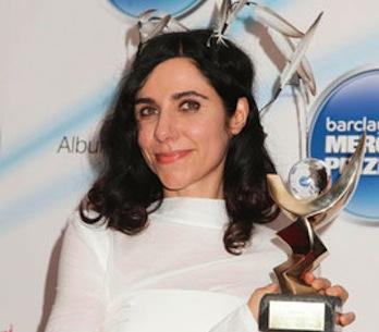 A letošní Mercury Prize získává...PJ Harvey
