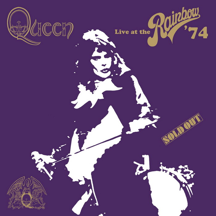 QUEEN - Live At The Rainbow CD Packshot