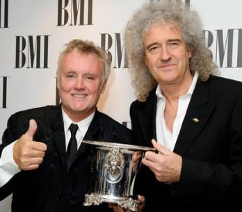 Queen se stali ikonou v cenách BMI Awards
