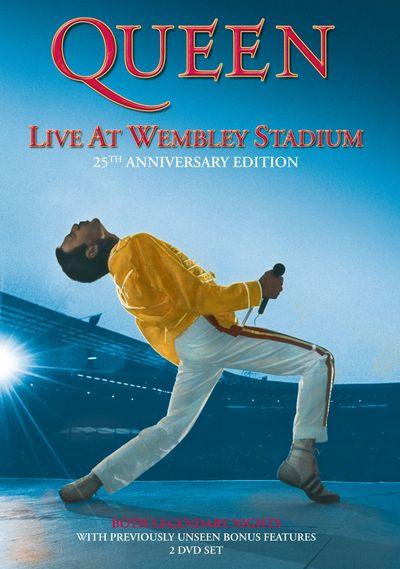 Queen dnes vydávají DVD s čtvrt století starým vystoupením ve Wembley