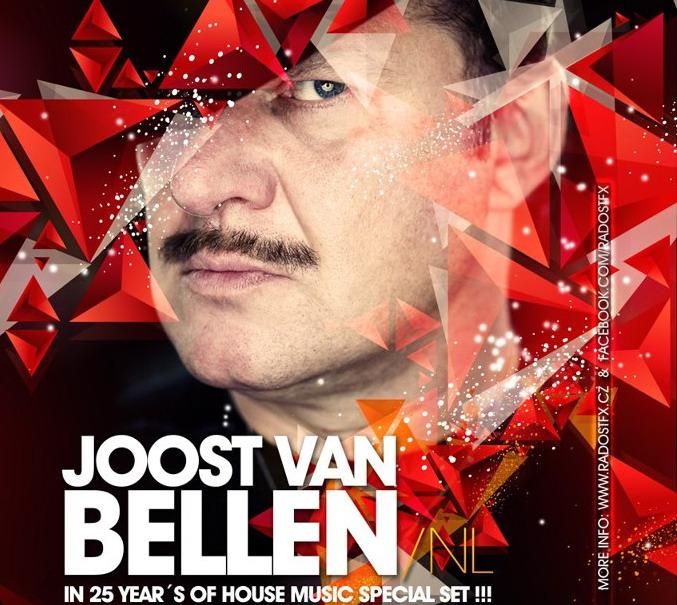 Nostalgie v Radosti FX: Joost Van Bellen se vrátí s houseovým setem