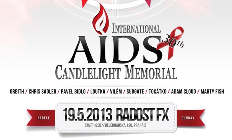 Radost FX podpoří kampaň proti AIDS. Zahrají Chris Sadler i Pavel Bidlo
