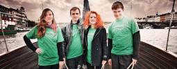VIDEO: Popelnicová show Recyklas na Žebříku i na Monkey Business tour