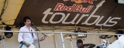 Red Bull Tourbus přežil vichřici, pokračuje v krasojízdě