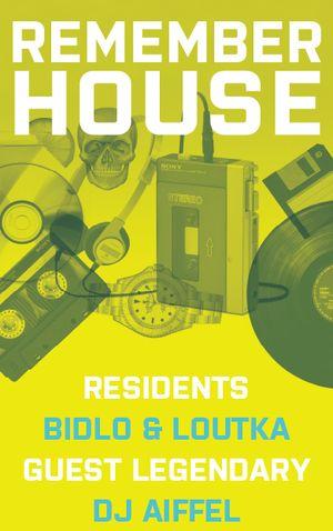 Remember House vzpomíná na zlatá devadesátá, hostem bude DJ Aiffel
