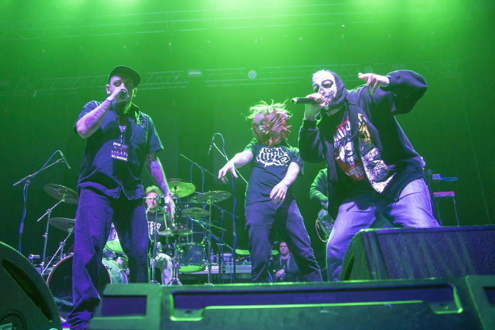 LIVE: Smrtka a červi - Vanessa si zkusila halový koncert