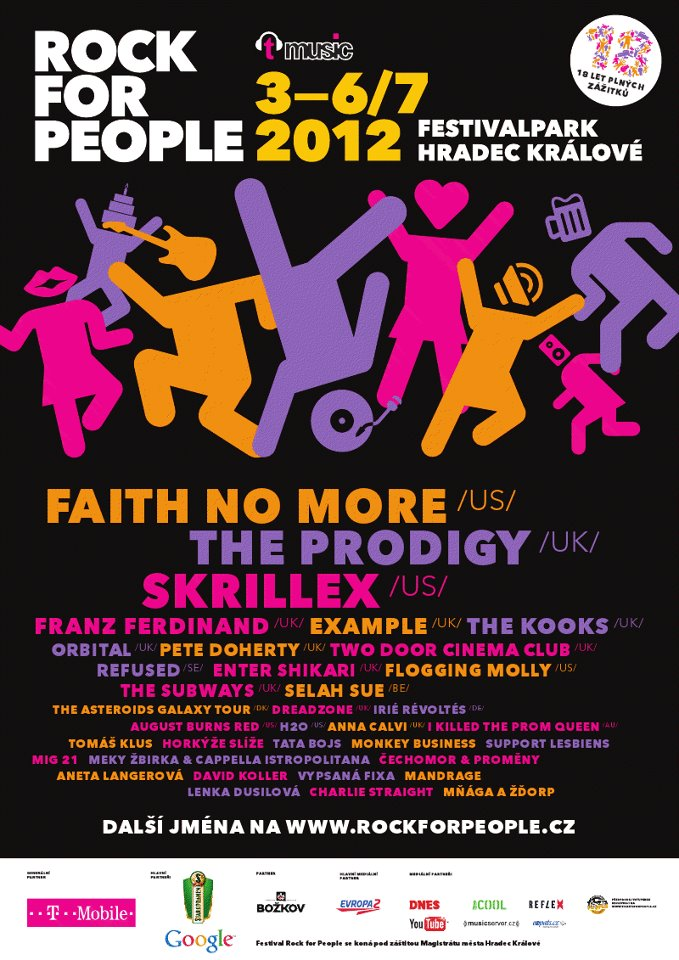 Hlavní program na Rock For People se rozjíždí