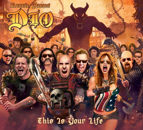 Ronnie James Dio - This Is Your Life cover