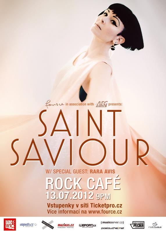 Saint Saviour se poprvé představí v Praze, pomůžou jí Rara Avis