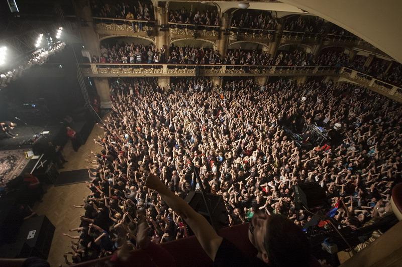 LIVE: Serj Tankian přivezl politiku i System of a Down