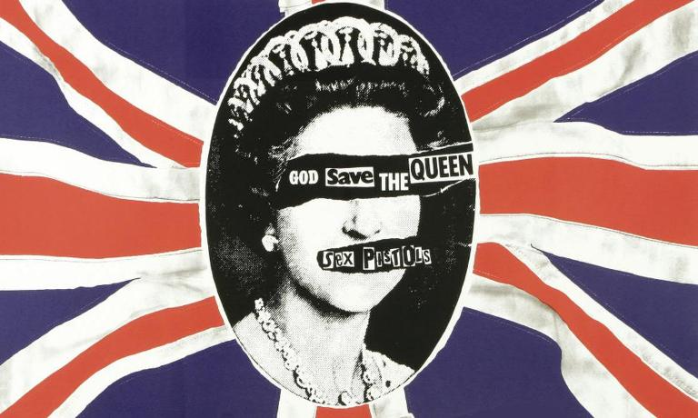 sex pistols god save the queen wallpaper-other