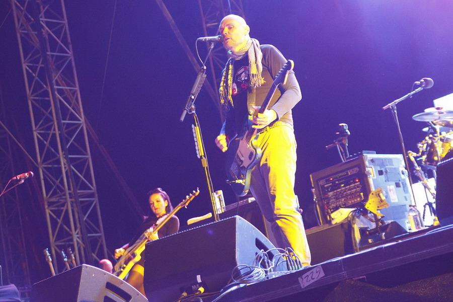LIVE: Smashing Pumpkins na Pohodě hledali zvuk i smysl