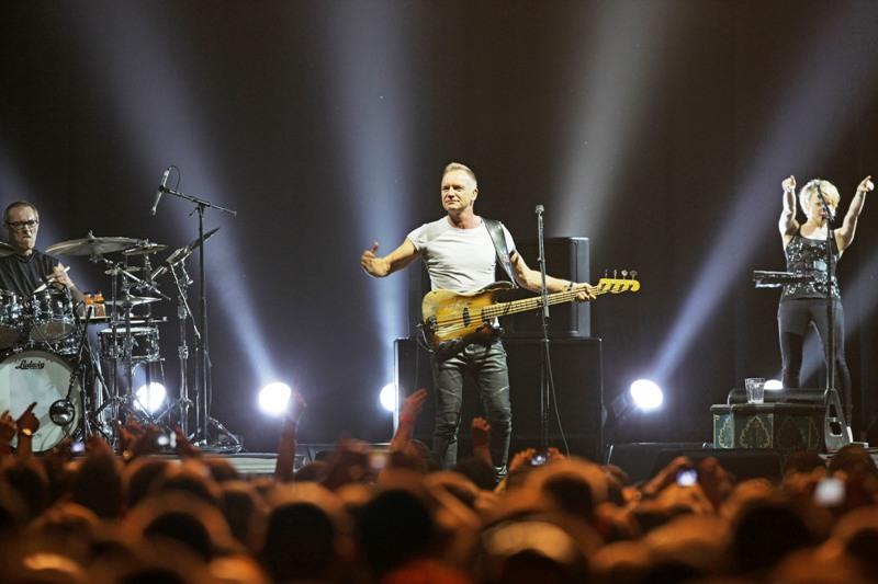 LIVE: Sting umí zaujmout uši, na oči kašle