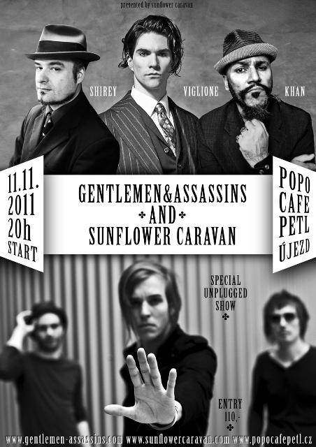 Bubeník Dresden Dolls vystoupí v Praze, uvedou ho Sunflower Caravan