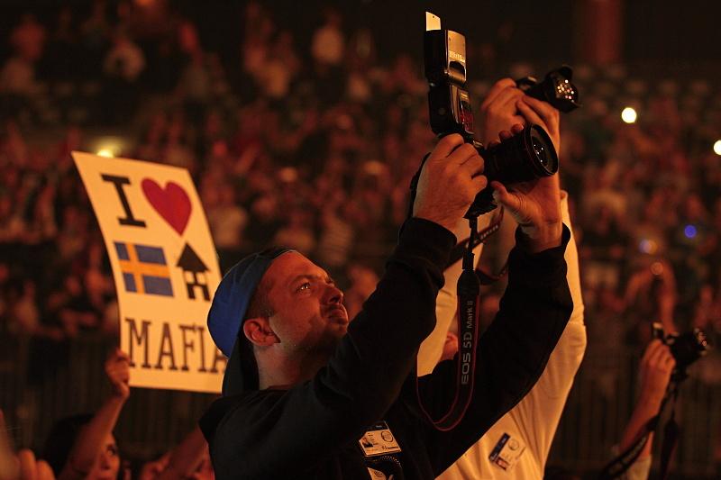 LIVE: Swedish House Mafia se loučili. Vzpomněli i na Coldplay