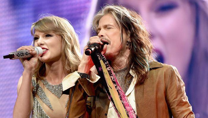 VIDEO: Taylor Swift a Steven Tyler si zazpívali hit z Armageddonu