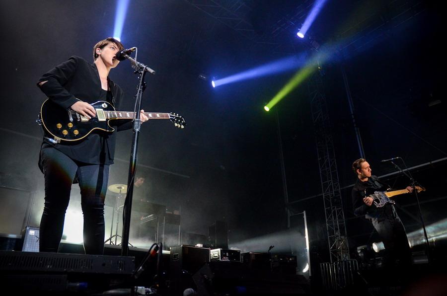 LIVE: Intimní The xx umí koexistovat i s festivalovým publikem