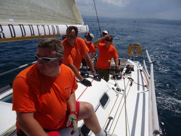 Tři sestry: jachtařský tým vyhrál mistrovství v Řecku