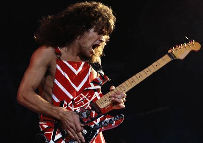 Eddie Van Halen: chcete jeho kytaru? Pusťte se do dražby!