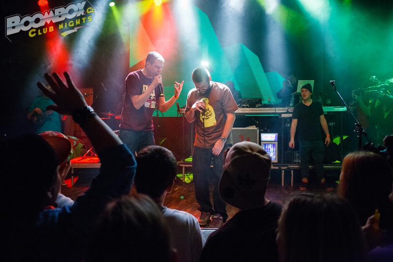 LIVE: Vec a Supa dokázali, že dobrý hiphop lze dělat i bez velkého ega