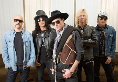 Velvet Revolver po čtyřech letech spolu, na jeden koncert!