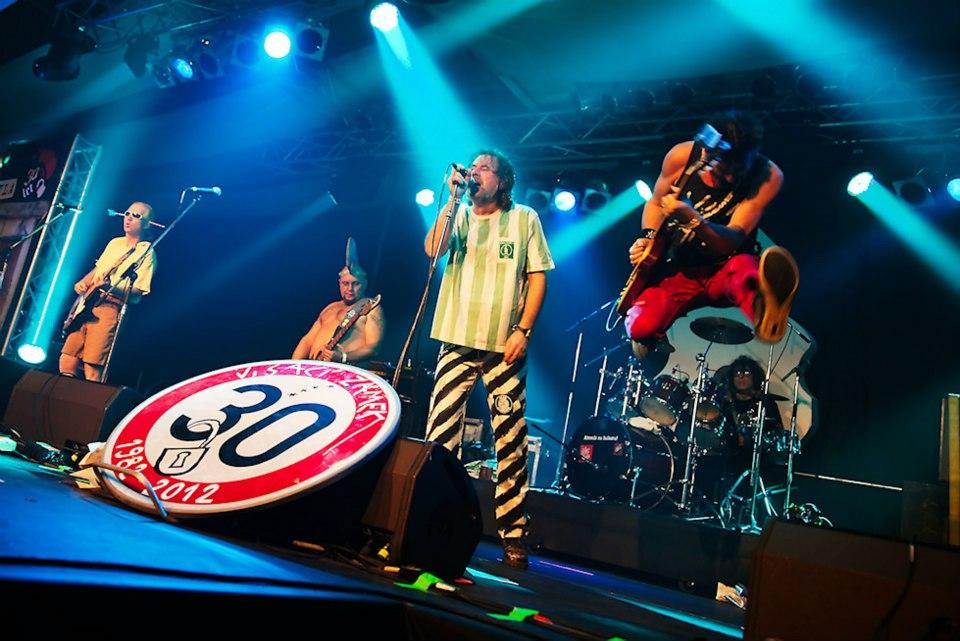 LIVE: Visací zámek slavil třicetiny a ukázal, co je známka punku