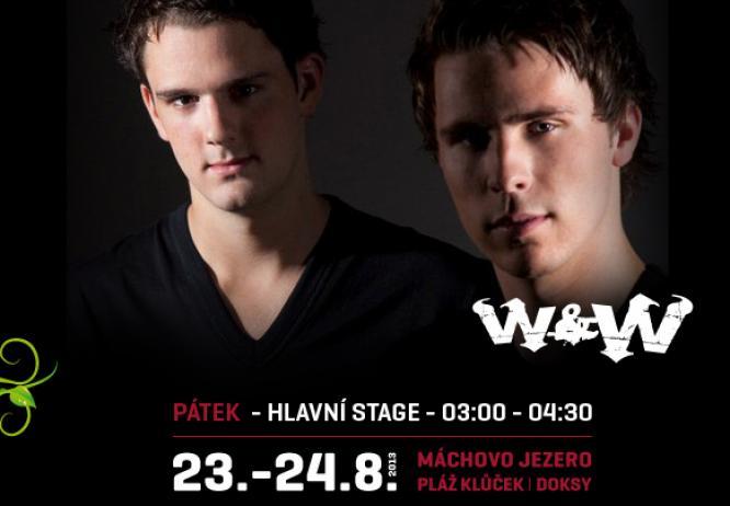 W&W interview: Hvězdy Mácháče 2013 dal dohromady internet