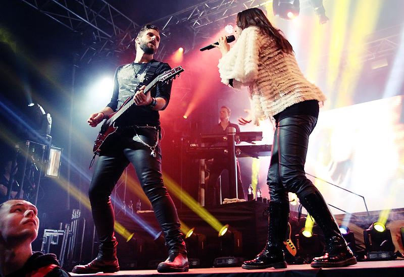 LIVE: Within Temptation naladili publikum v Praze do hororové nálady