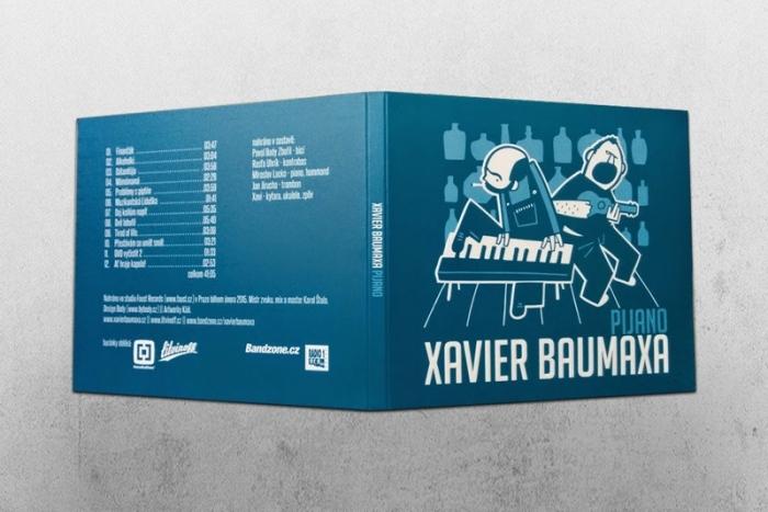 Zraněný Xavier Baumaxa pokřtí nové album s náhradním kytaristou