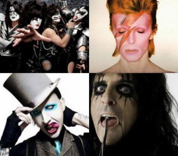 Make-up jako postoj aneb TOP 10 počmáraných muzikantů