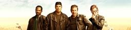 Drsní motorkáři Martin Lawrence, John Travolta a Tim Allen