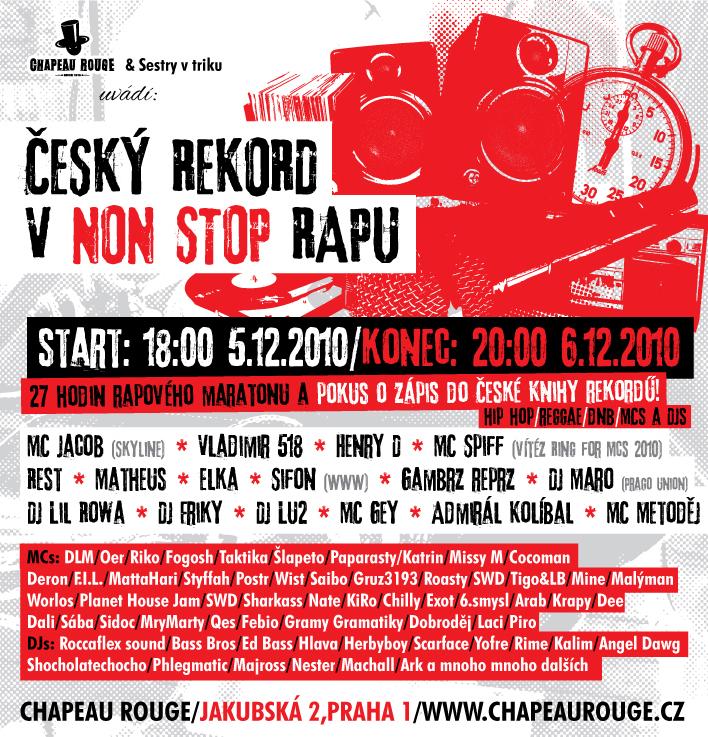 Český rekord v rapu