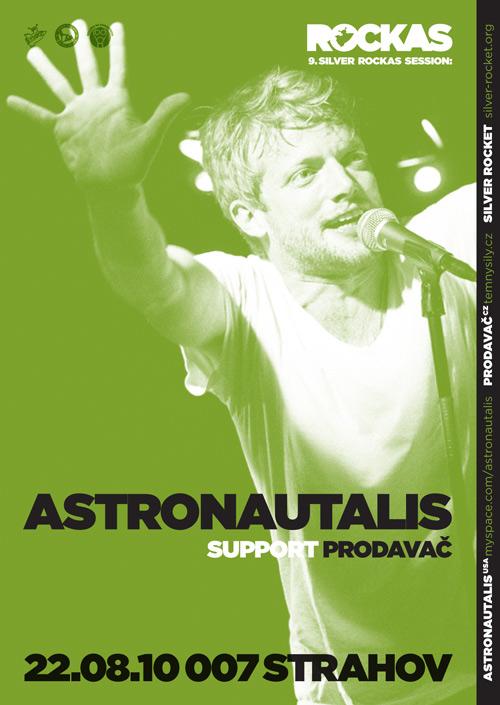 Astronautalis se vrací do Prahy