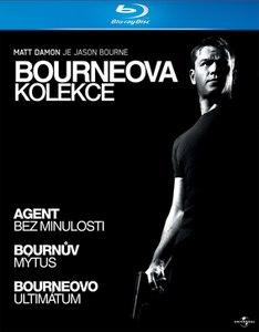 Bourneova kolekce v HD na Blu-Ray