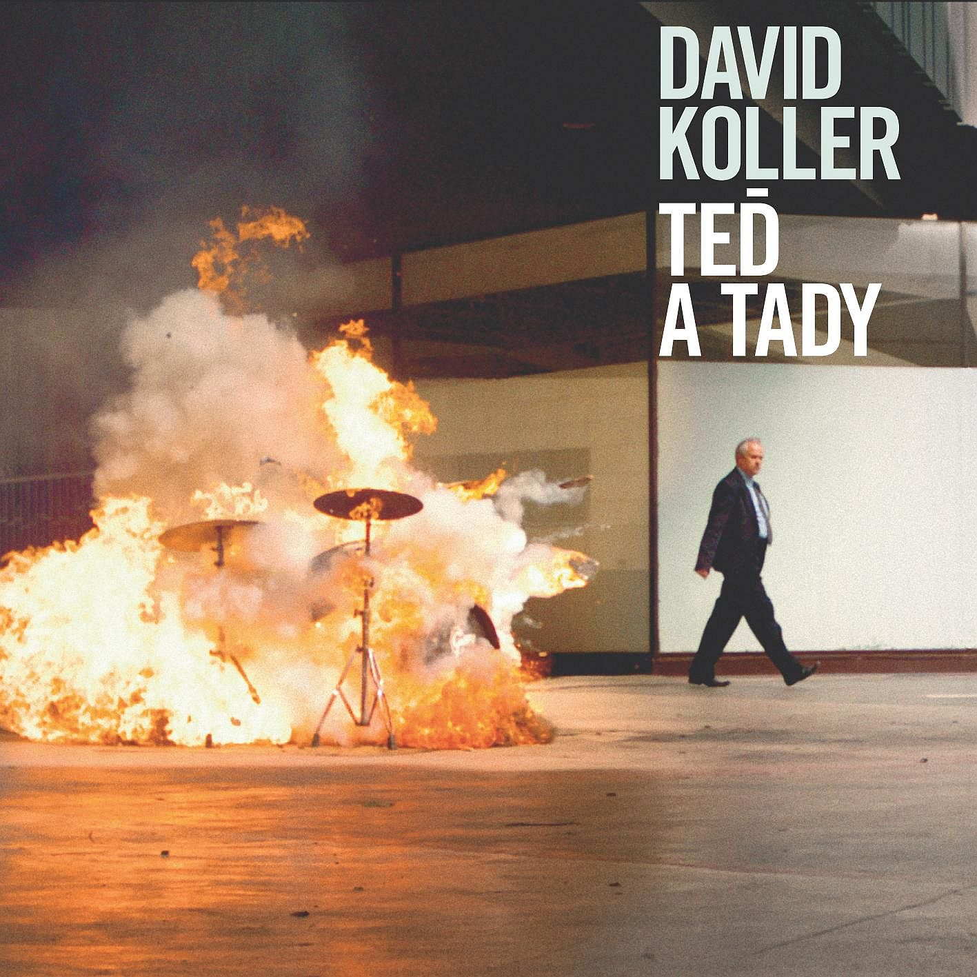 David Koller podepisoval CD Teď a tady