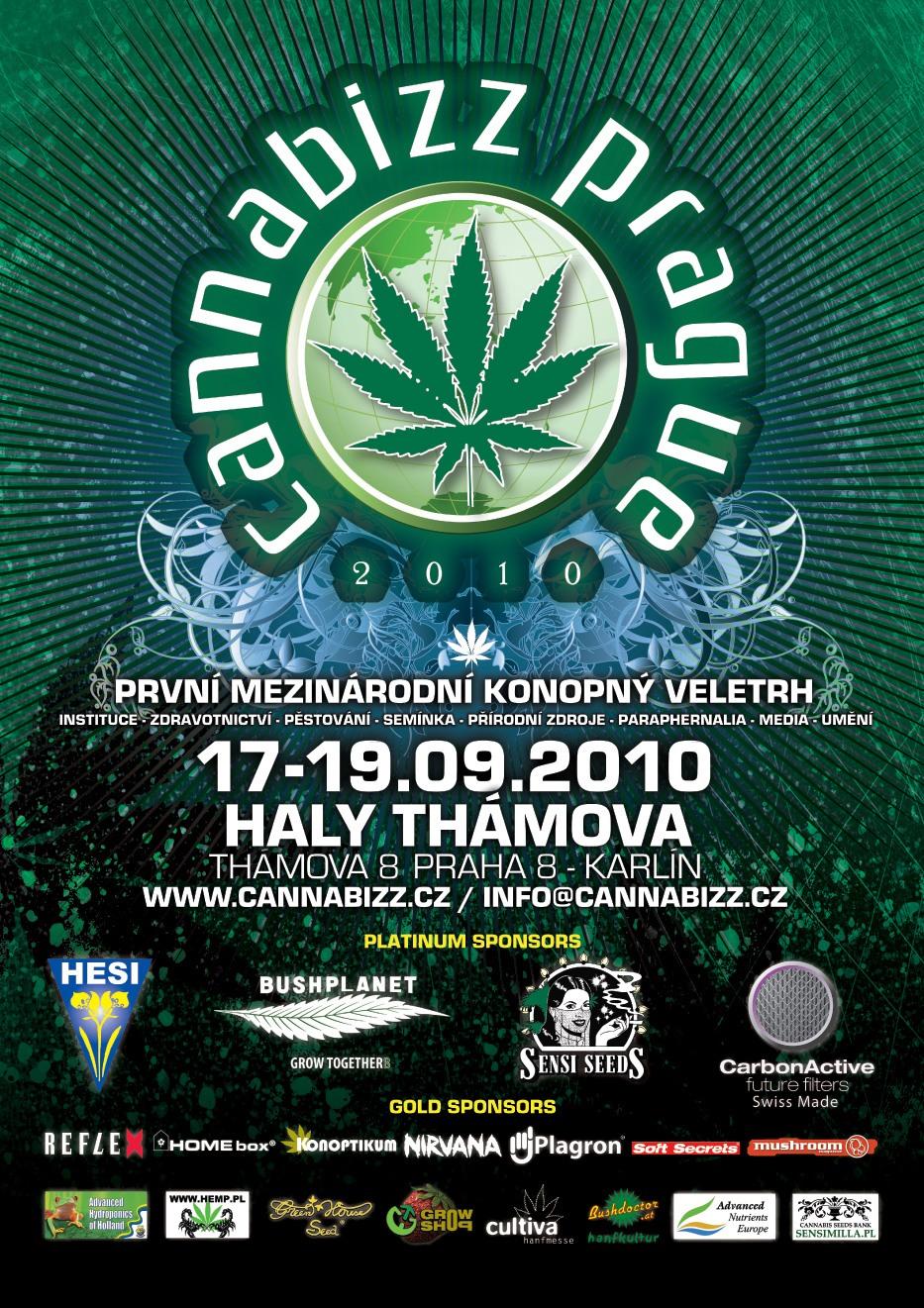 Cannabizz - 1. český veletrh konopné kultury